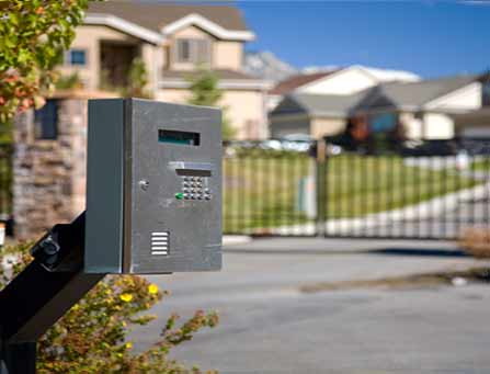 Electric Gate Access Control